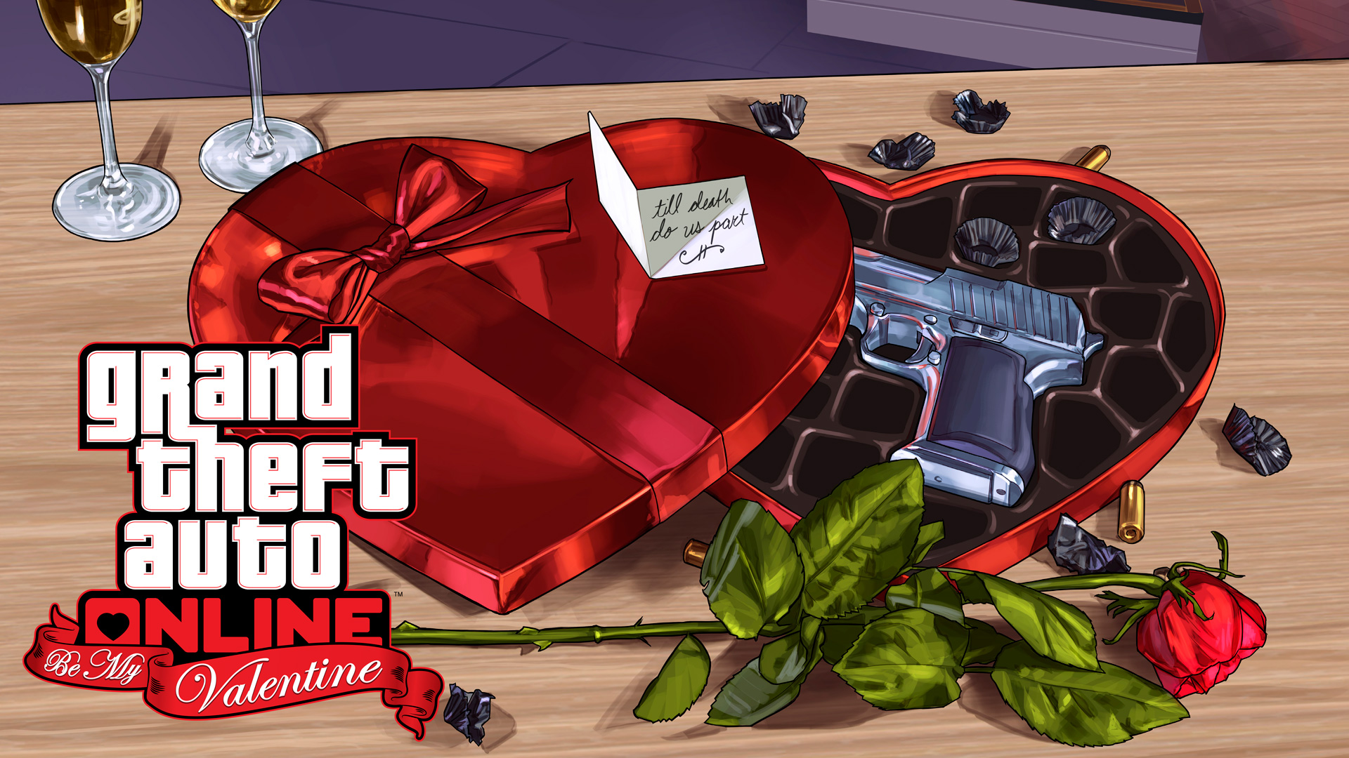 GTA V Artwork BeMyValentine 1205 1600