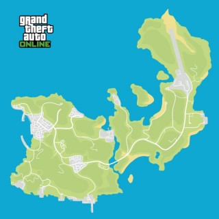 GTA Online Cayo Perico Map Rendition - by Asger