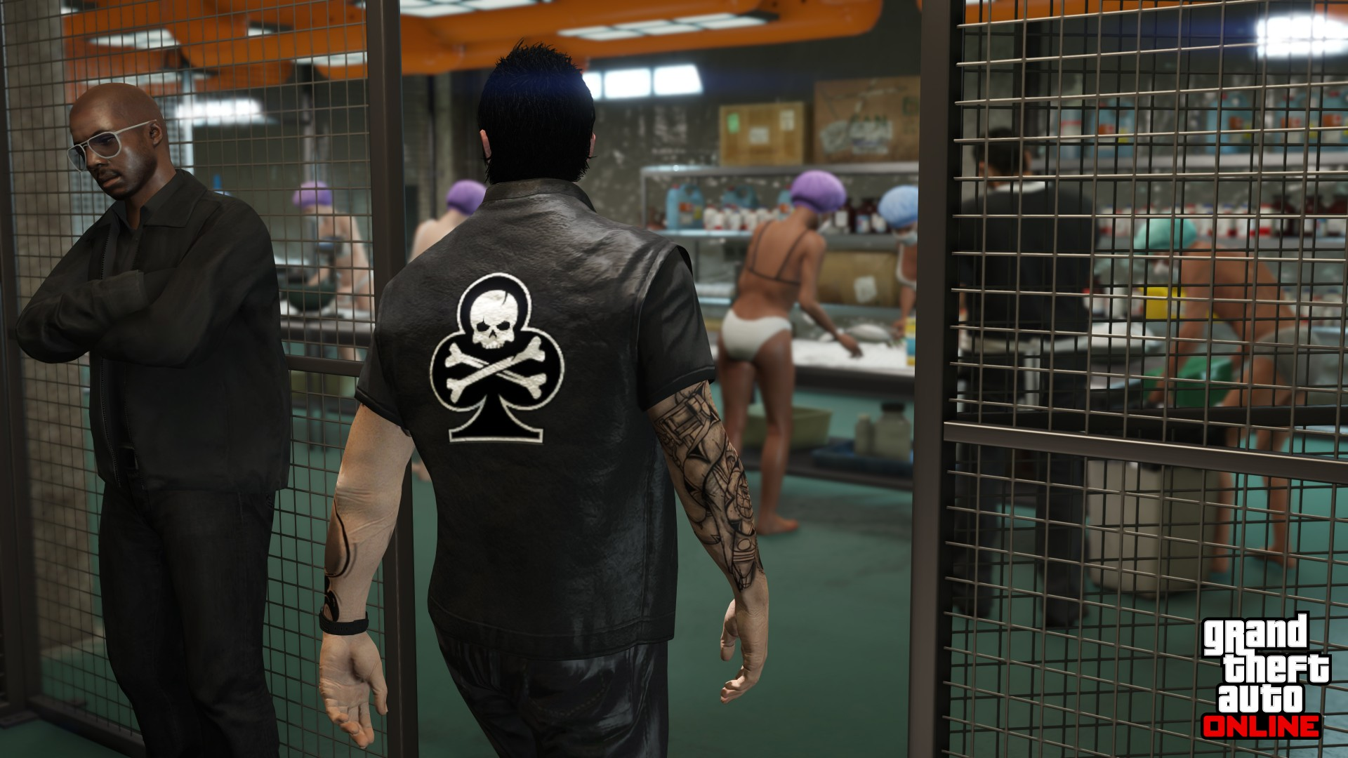 GTAOnline 13602 Bikers MCBusiness CocaineLockup 1400 1080